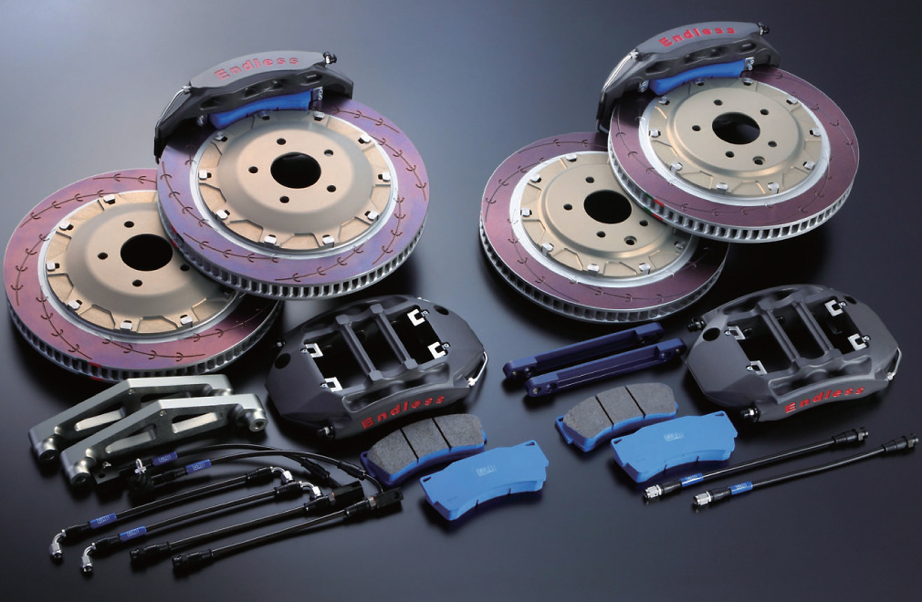 ENDLESS BRAKE KITS FOR ROAD  AND TRACK