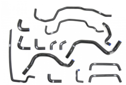 SAMCO COOLANT HOSE KIT STI 2008+ BLACK