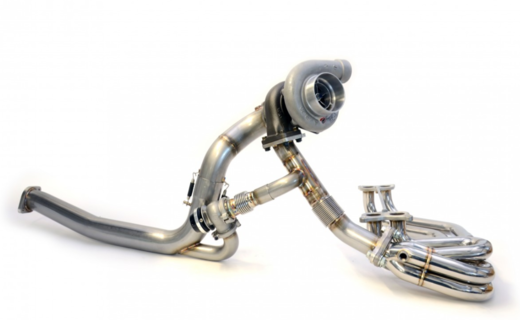 RCM TWISTED TURBO UP/DOWNPIPE KIT